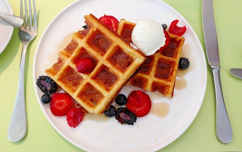 Waffle COMO Cuisine Singapore