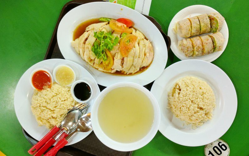 Half Chicken Meal Tong Fong Fatt Singapore 02