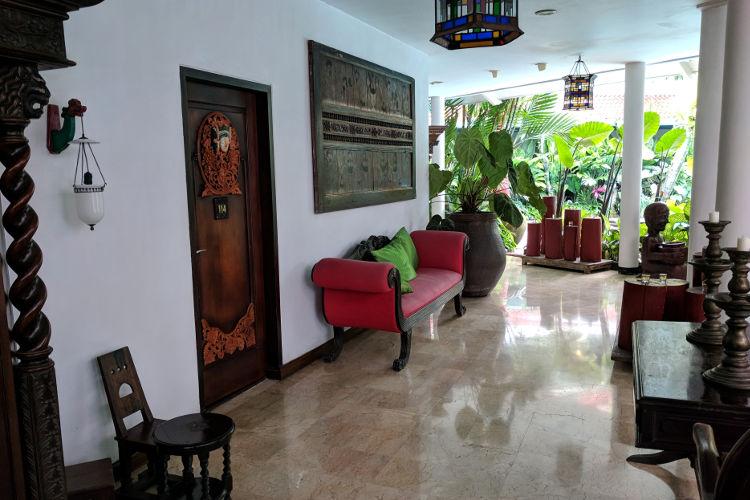 Hallway Tugu Malang Hotel Malang