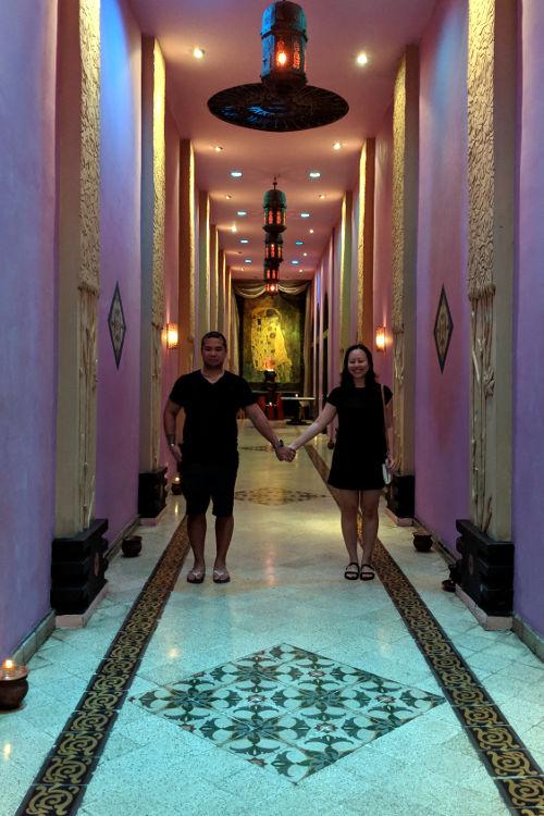 Nadia and JM Hallway Tugu Malang Hotel Malang 02