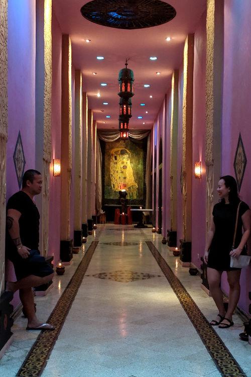 Nadia and JM Hallway Tugu Malang Hotel Malang