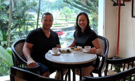 Teatime at Malang Tugu Tea House