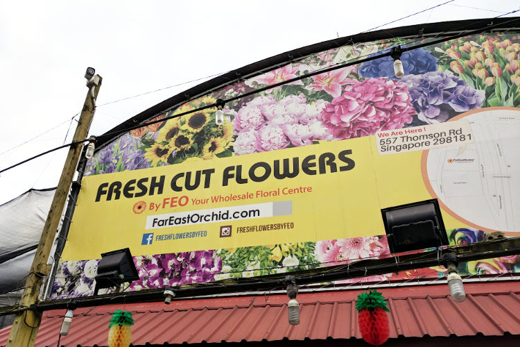 Singapore Far East Orchid Signage
