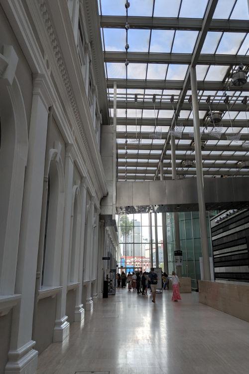 Singapore National Museum Interior