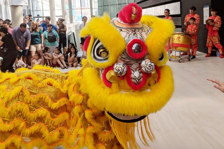 Singapore National Museum Lion Dance 03