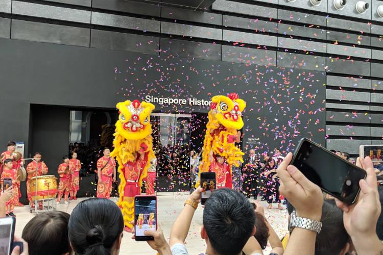 Singapore National Museum Lion Dance 05