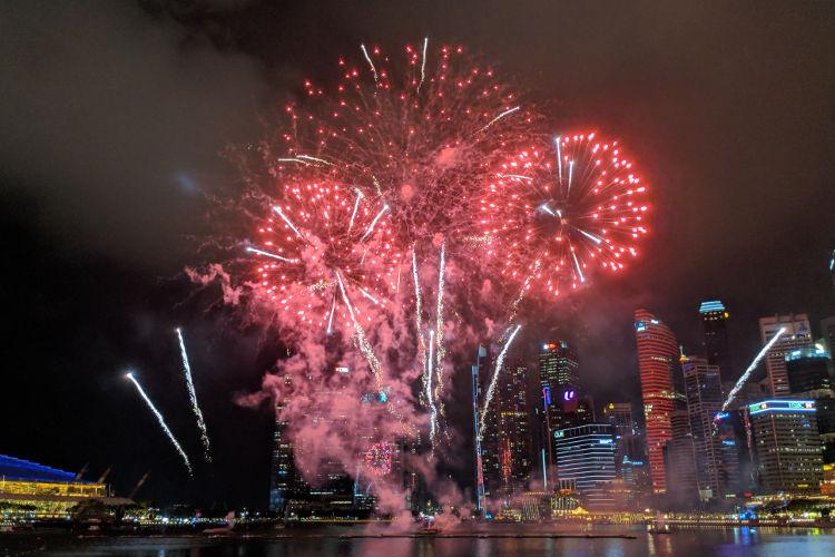 Singapore River Hongbao CNY 2019 Firework 01