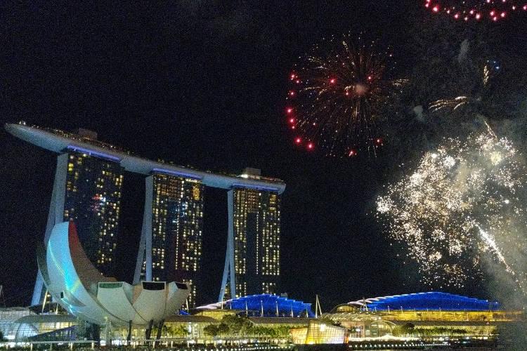Singapore River Hongbao CNY 2019 Firework 03