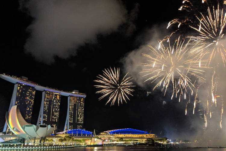 Singapore River Hongbao CNY 2019 Firework 07