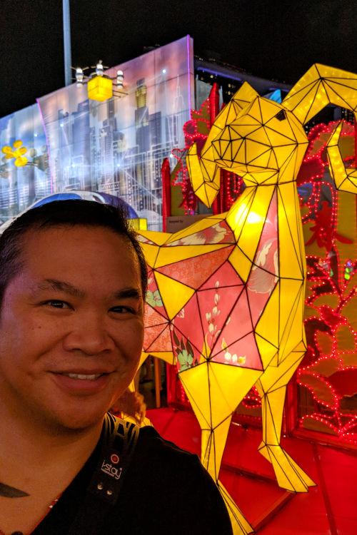 Singapore River Hongbao CNY 2019 JM with Ram Lantern
