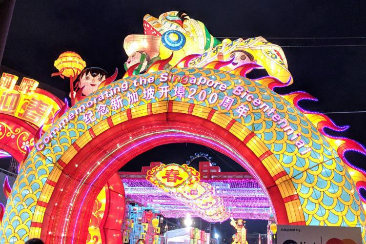 Celebrating Singapore's Chinese New Year at River Hongbao