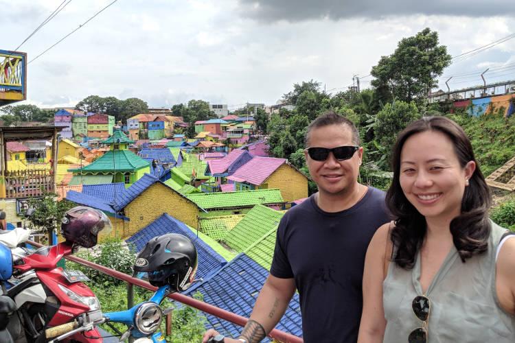 Nadia and JM Kampung Warna Warni Jodipan 07