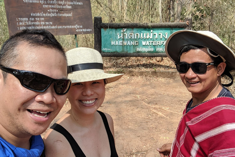 Looking for Some Water During Chiang Mai's Dry Season