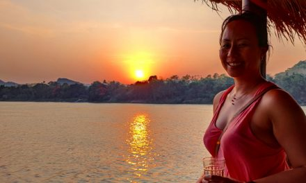 Riding the Mekong River Sa Sa Sunset Cruise