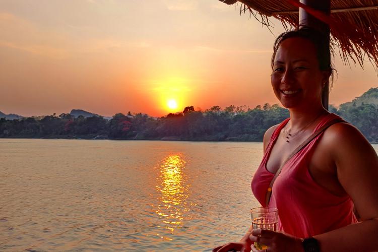 Riding the Mekong River Sa Sa Sunset Cruise