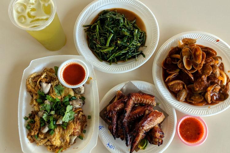 Food Layflat Newton Hawker Singapore