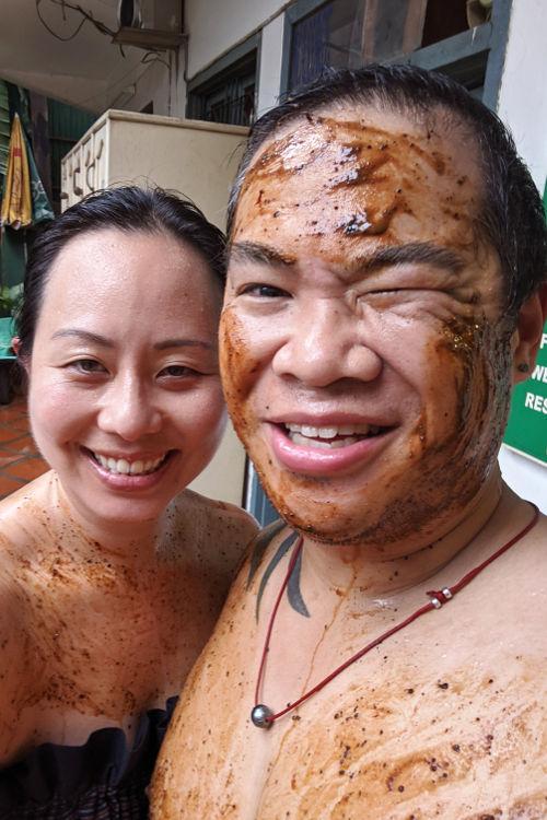 Nadia JM Herbal Sauna Vientiane Laos