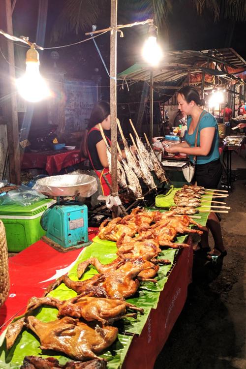 Nadia JM Local Night Market Vientiane Laos