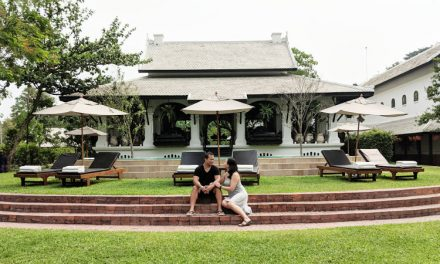Staying at the 5 Star Rosewood Luang Prabang