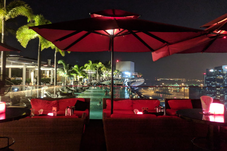 Pool Party MBS Singapore