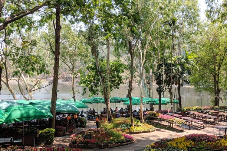 Eating Area Galae Chiang Mai Thailand