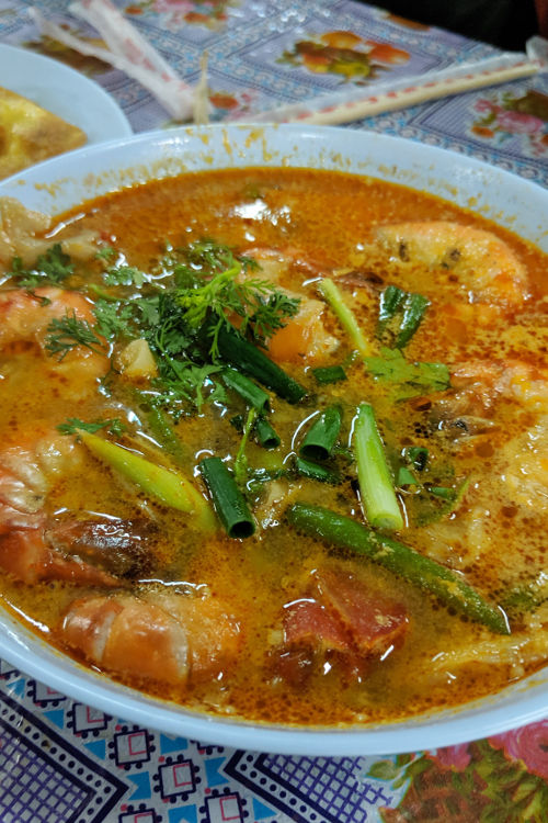 Tom Yum Saturday Night Market Chiang Mai Thailand