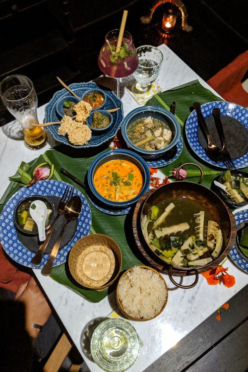 Great House Dinner Luang Prabang Laos 2019