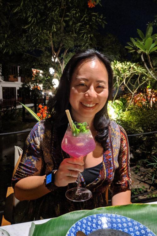 Nadia Cocktail Great House Luang Prabang Laos 2019