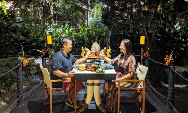 Celebrating in Luang Prabang's Great House Restaurant
