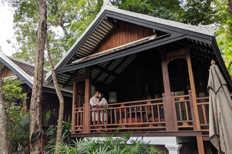 Nadia JM Kissing Villa Rosewood Luang Prabang 2019