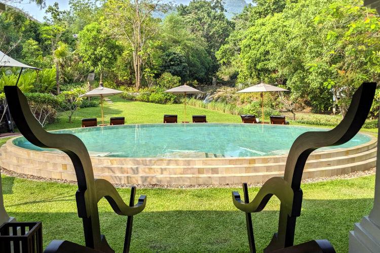 Pool at Rosewood Luang Prabang 2019