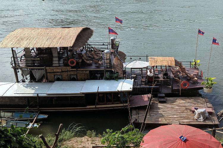 Sa Sa Sunset Cruise Boat Luang Prabang Laos 2019