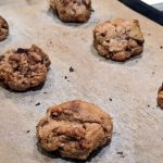 Baking Chocolate Chip Oatmeal Cookies at Home!