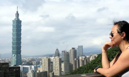 Seeing Taipei From the Top of the Elephant Mountain