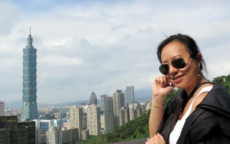Nadia and Taipei101